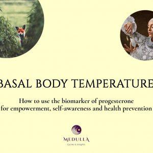 Basal body temperature cover
